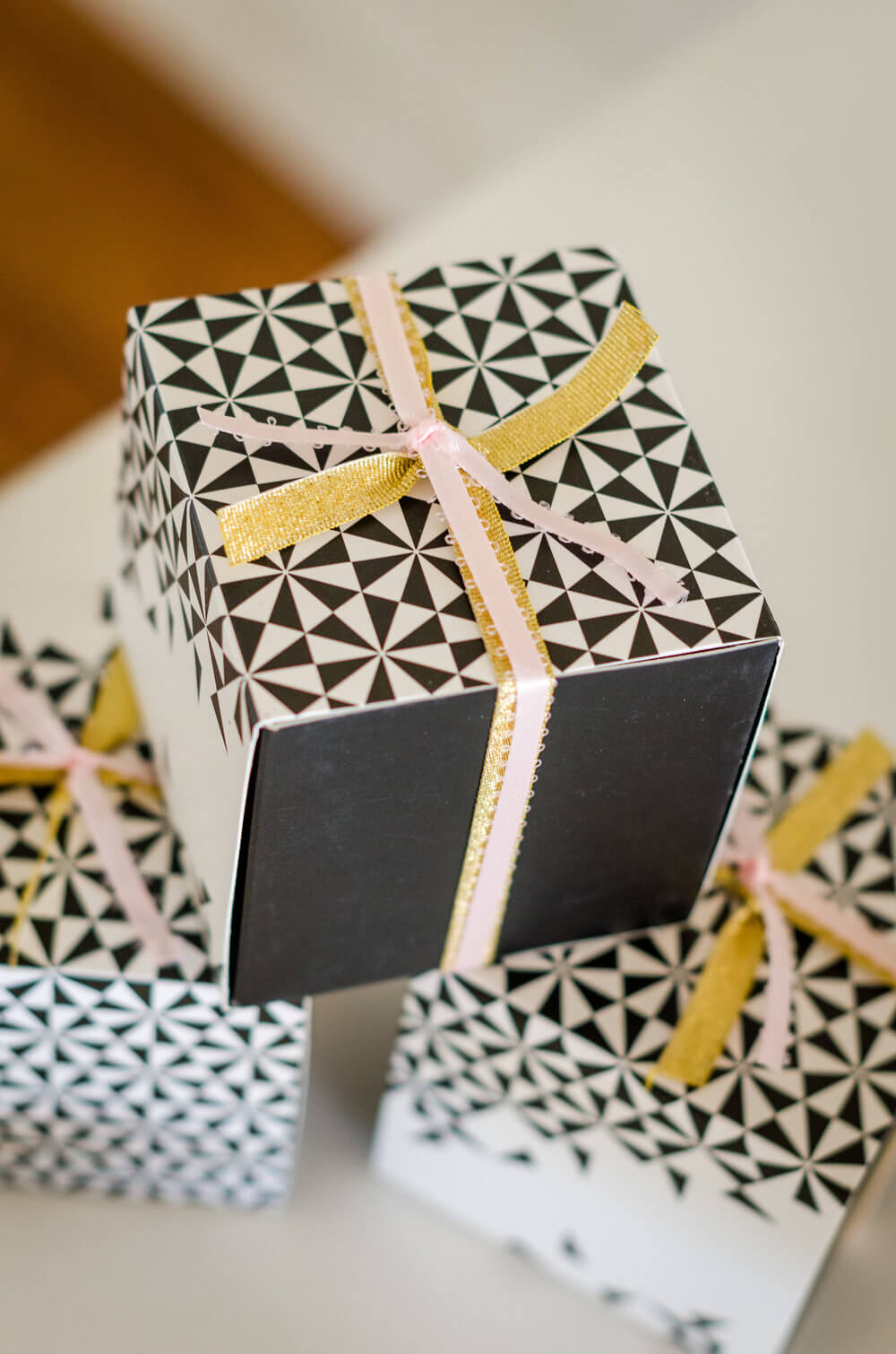 Gift Boxes for a Bridal or baby shower