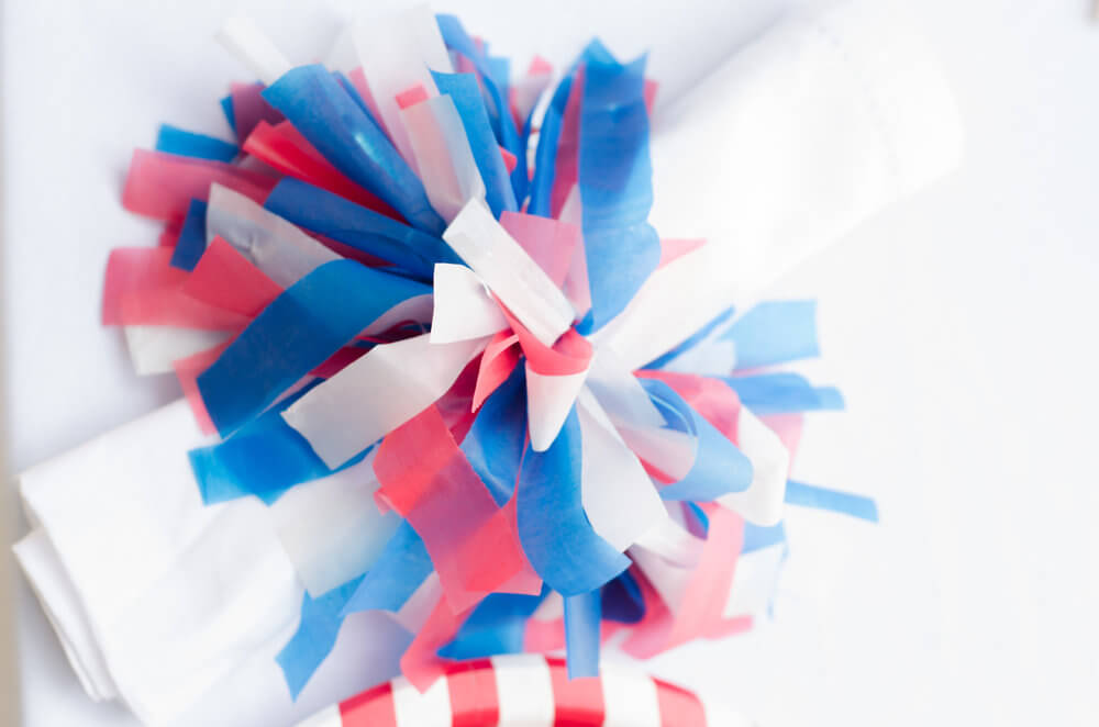 Fourth of July Napkin Ring