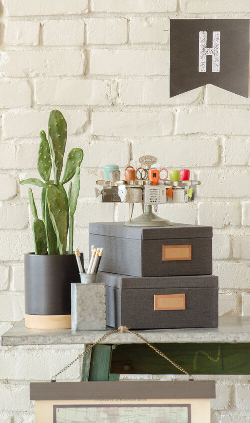 Back to school party decor with an industrial look.jpg