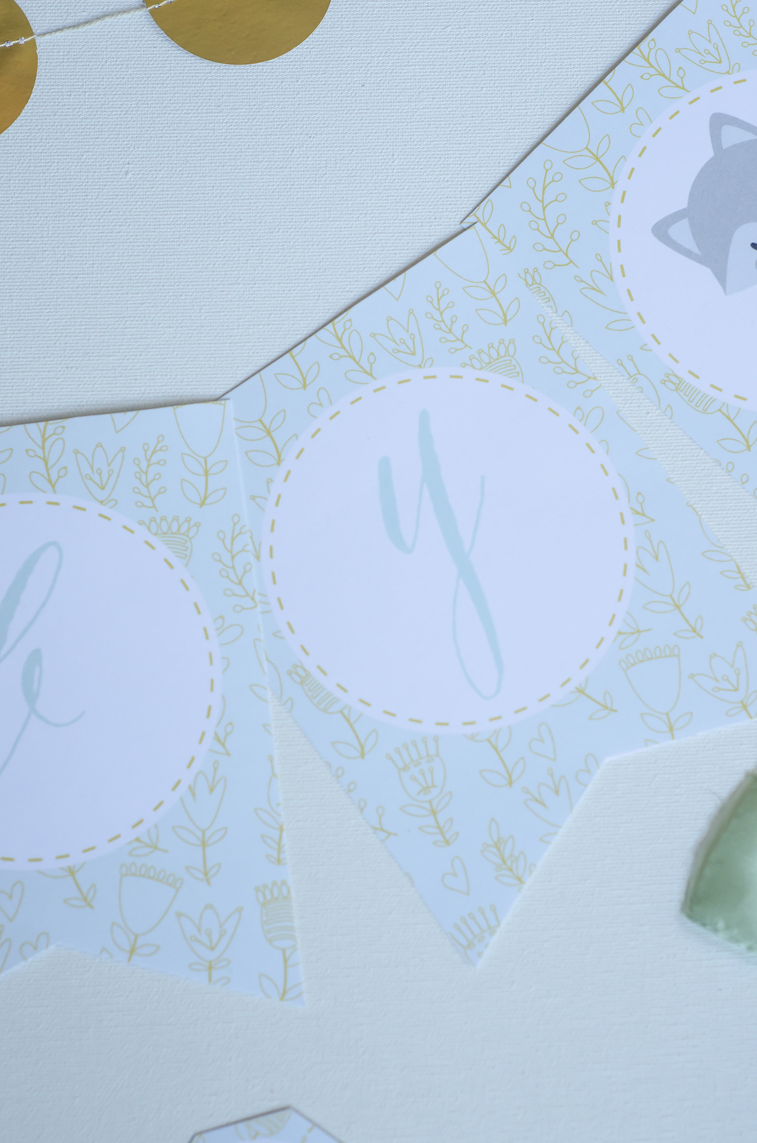 Win these printables from Mint Event Design's birthday giveaway