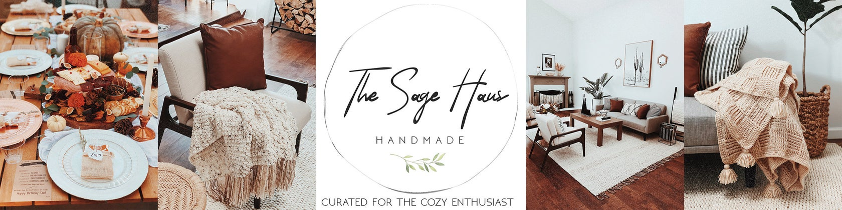 The Sage House - Handmade Home Decor including tassel garlands and beaded garlands