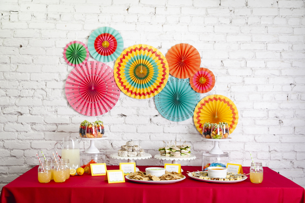 Fiesta party idea from Mint Event Design