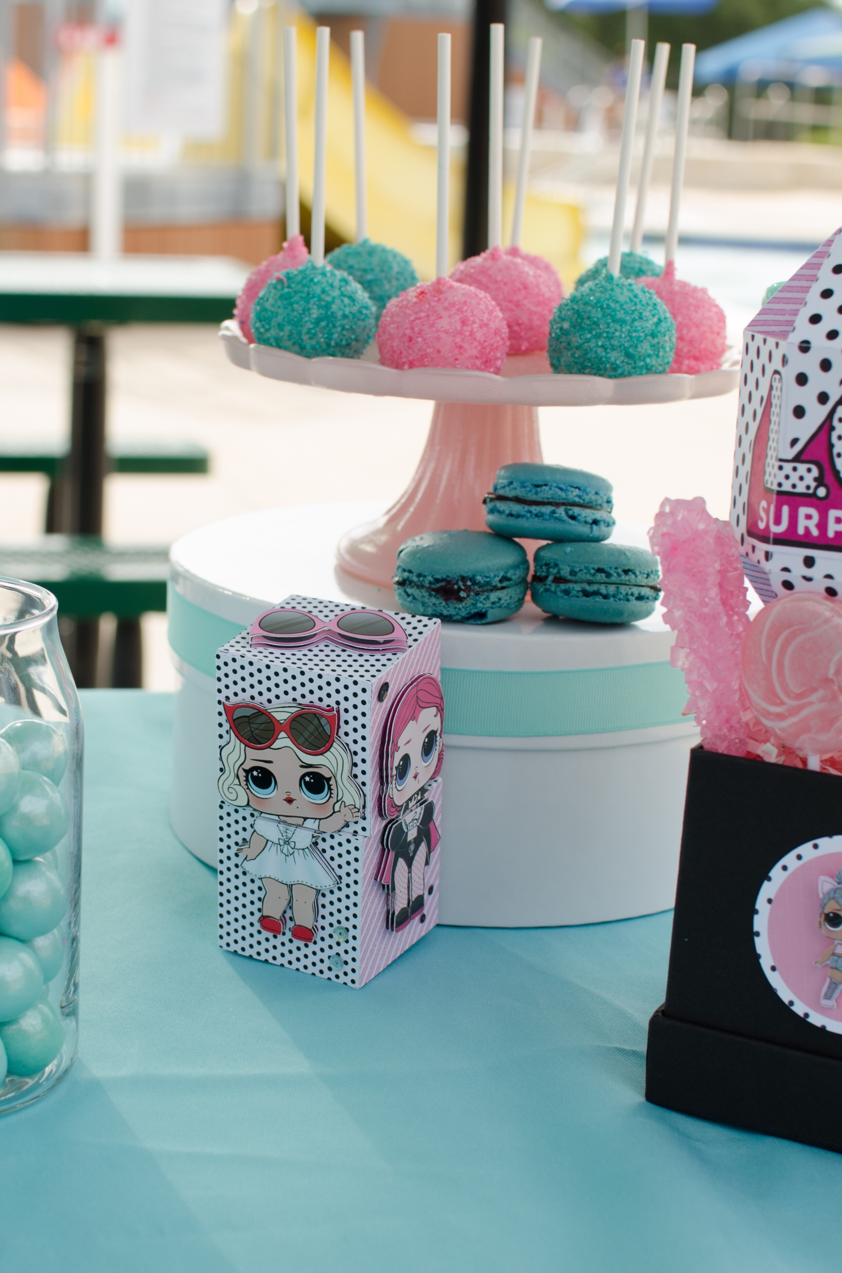How To Plan An Lol Surprise Inspired Birthday Party Mint Event Design