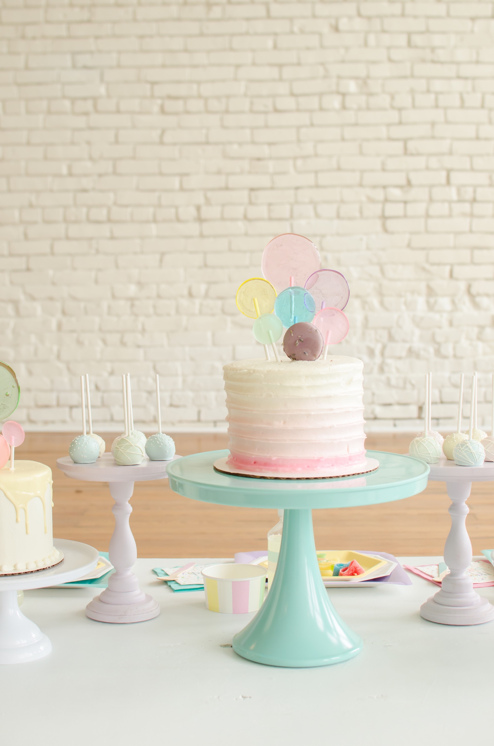 Cake ideas from Mint Event Design