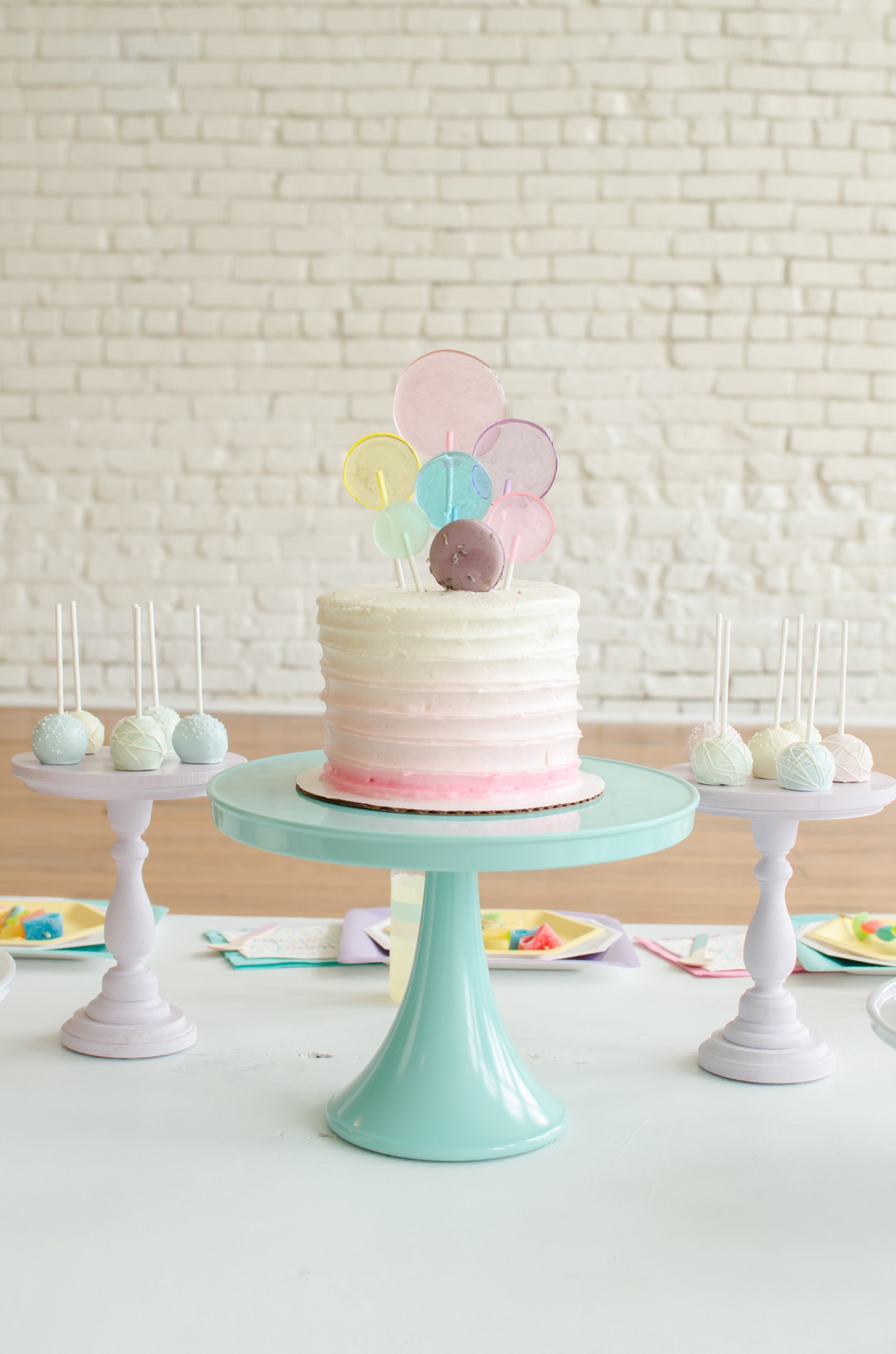 Cute girls birthday cake ideas from Mint Event Design