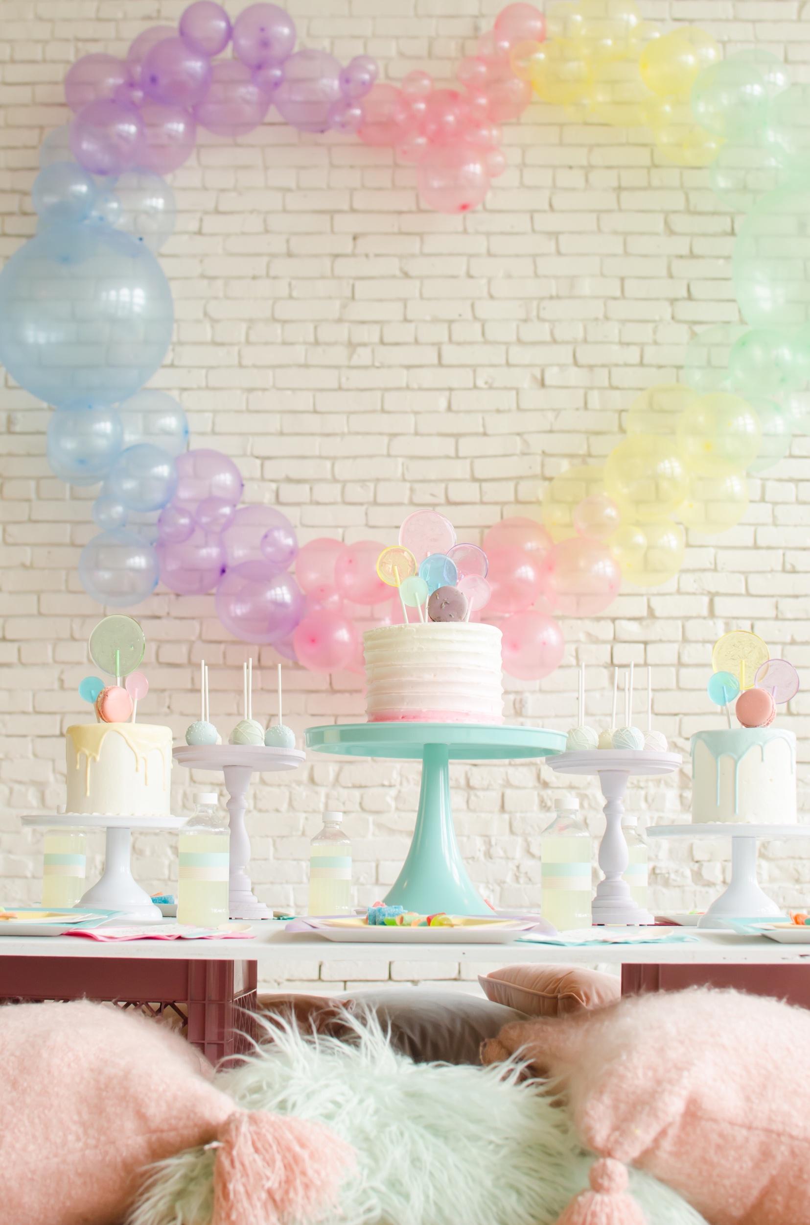 Cute balloon heart ideas