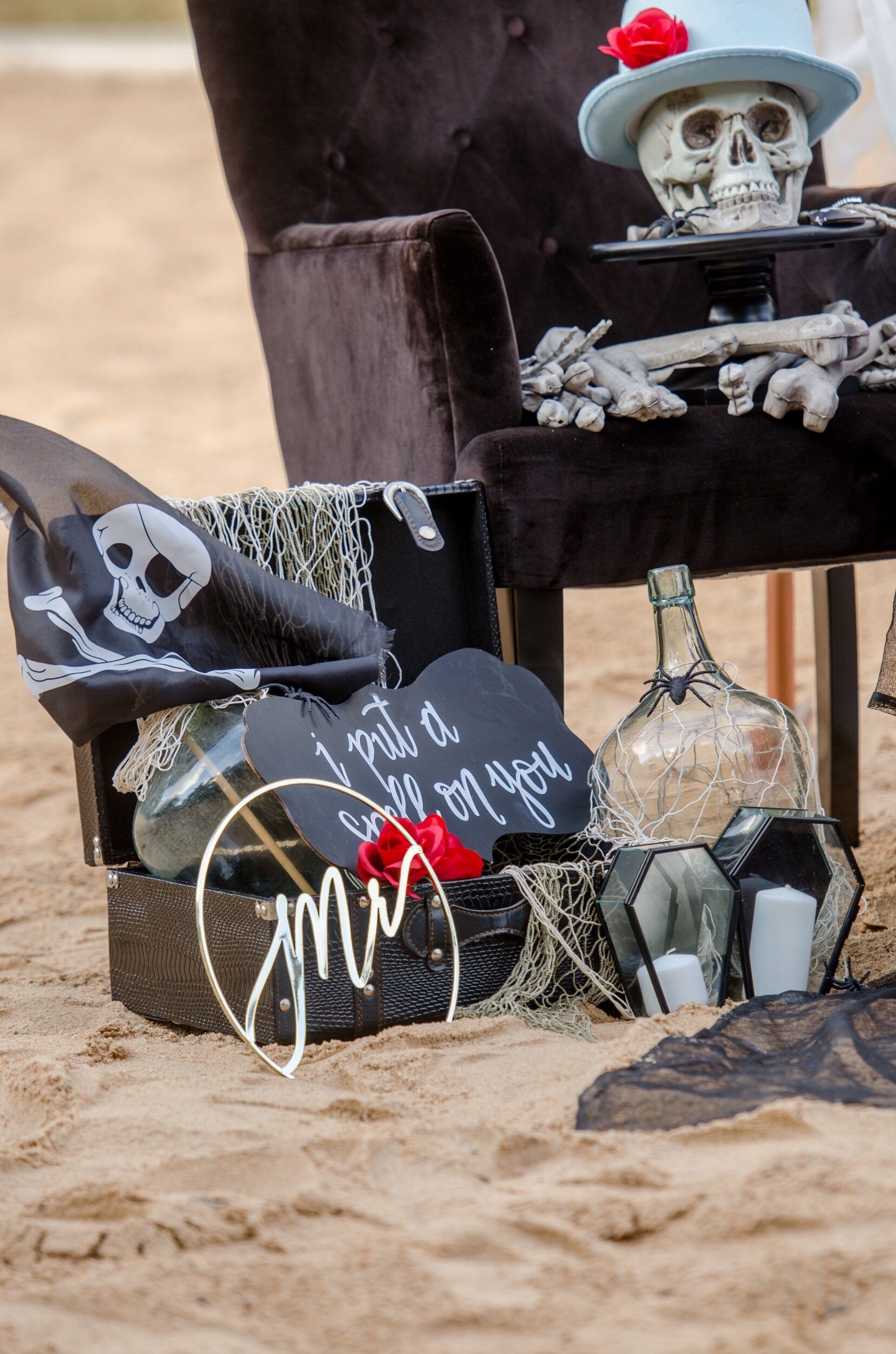 Pirate wedding ideas from Mint Event Design