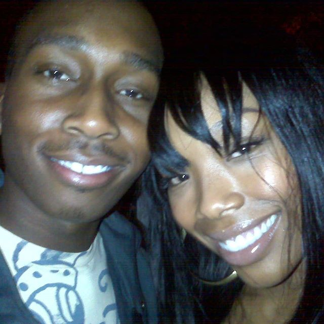 Super throwback lol with @4everbrandy. Wow. Seems like forever ago I got the pleasure to witness you working with some of my best friends & help set the stage for greatness... #goodtimes