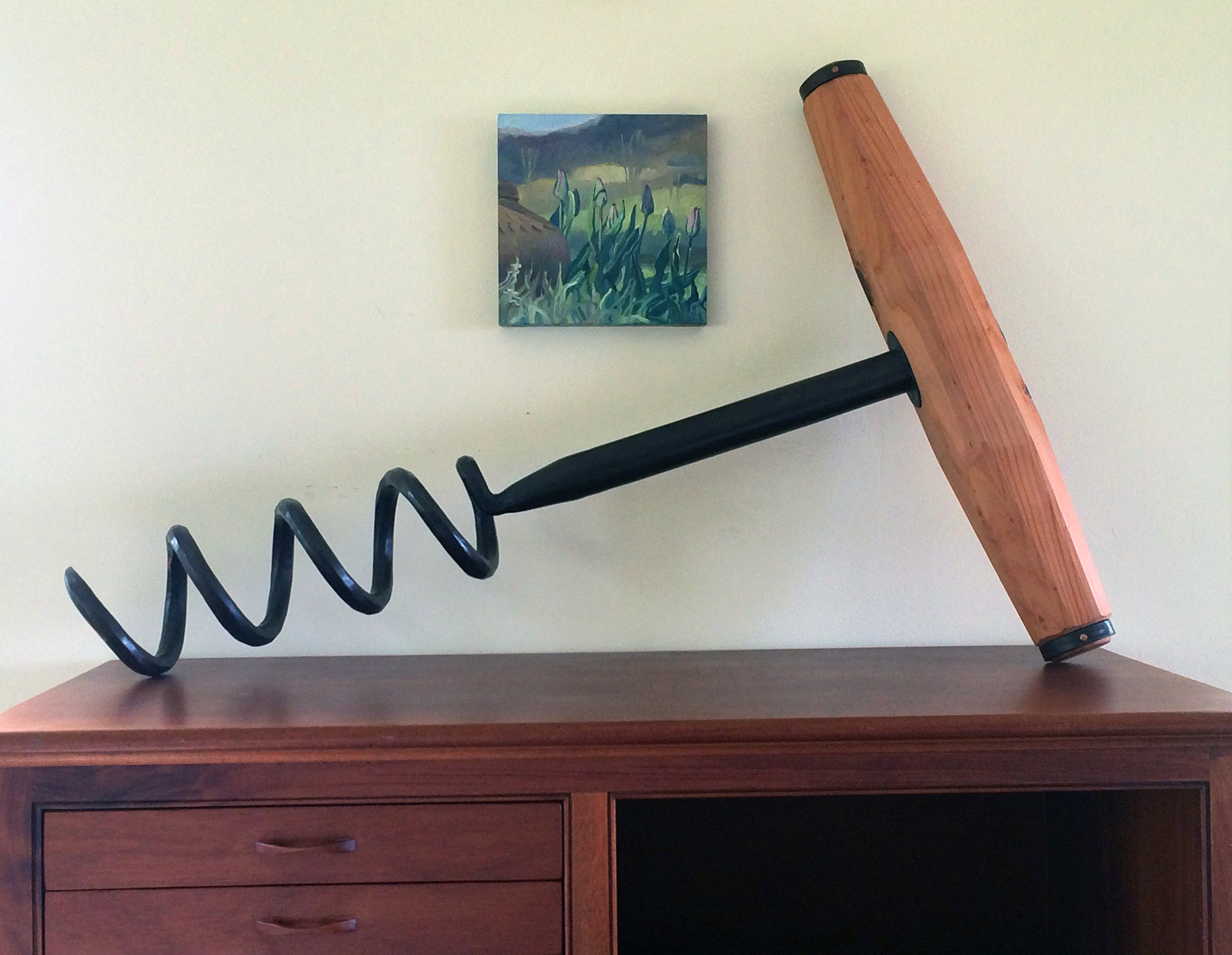 "CORKSCREW:  (48"") $10,800 Bronze  (Larger Size Available Upon Request)"