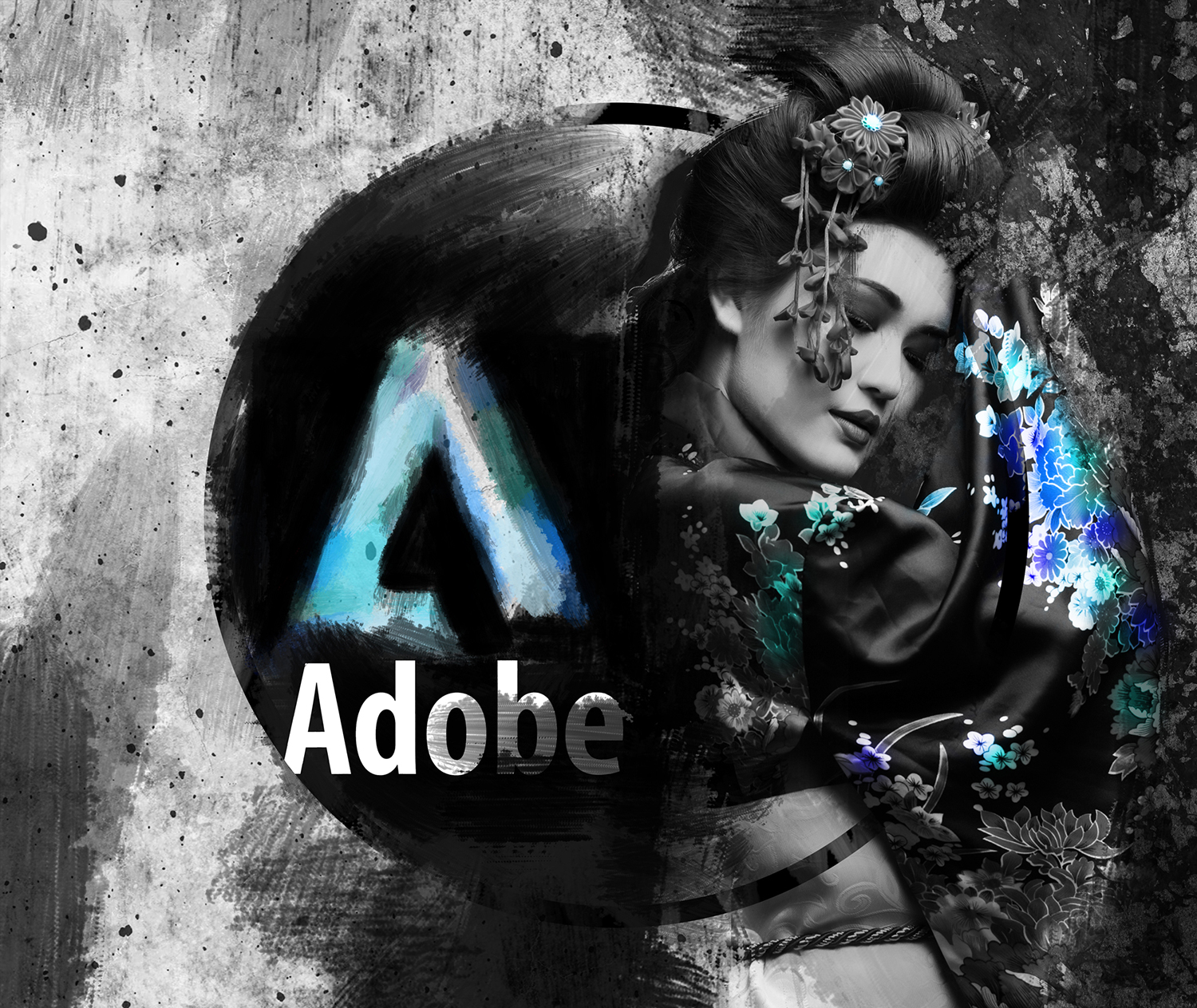 Adobe CC Splash Screen Concept Design Artwork by Adriano Rodrigues