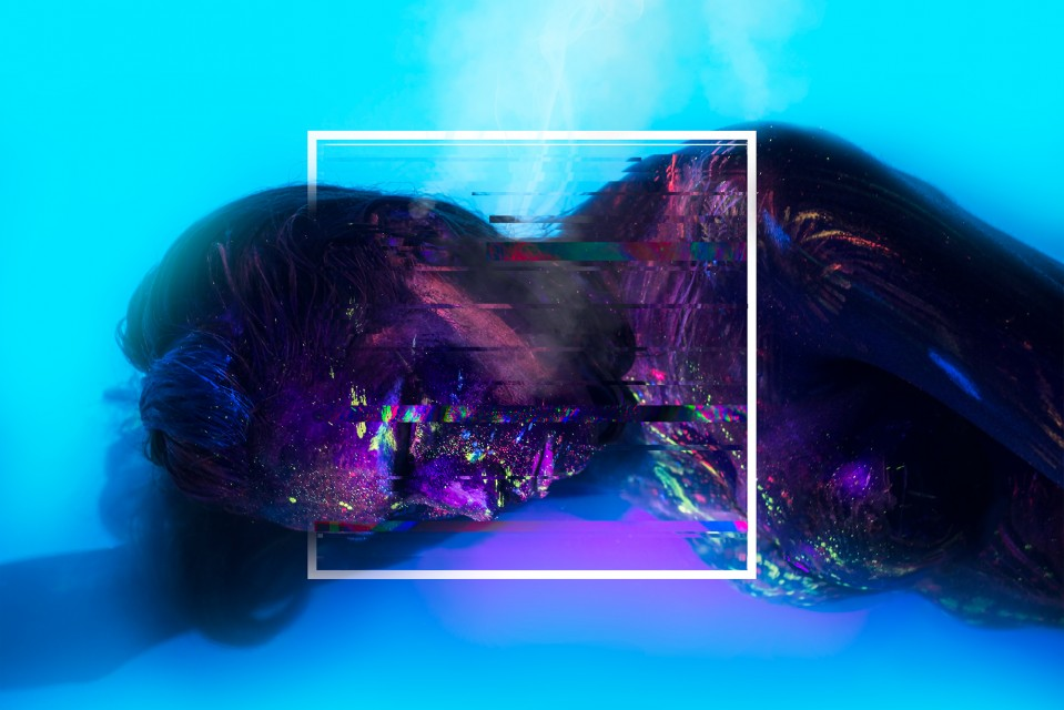 VIXEN Series - Example of Neon UV work by Adriano Rodrigues created in Adobe CC.