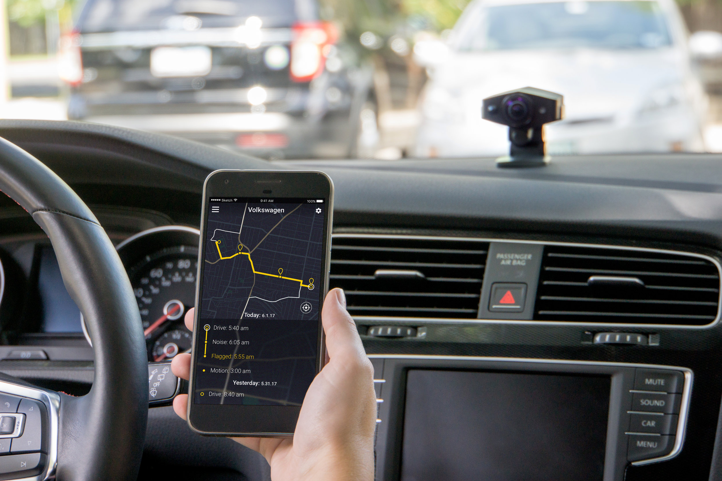 24/7 remote monitoring - Motion sensors and smart power management allow Agent to monitor your car even when you are away.