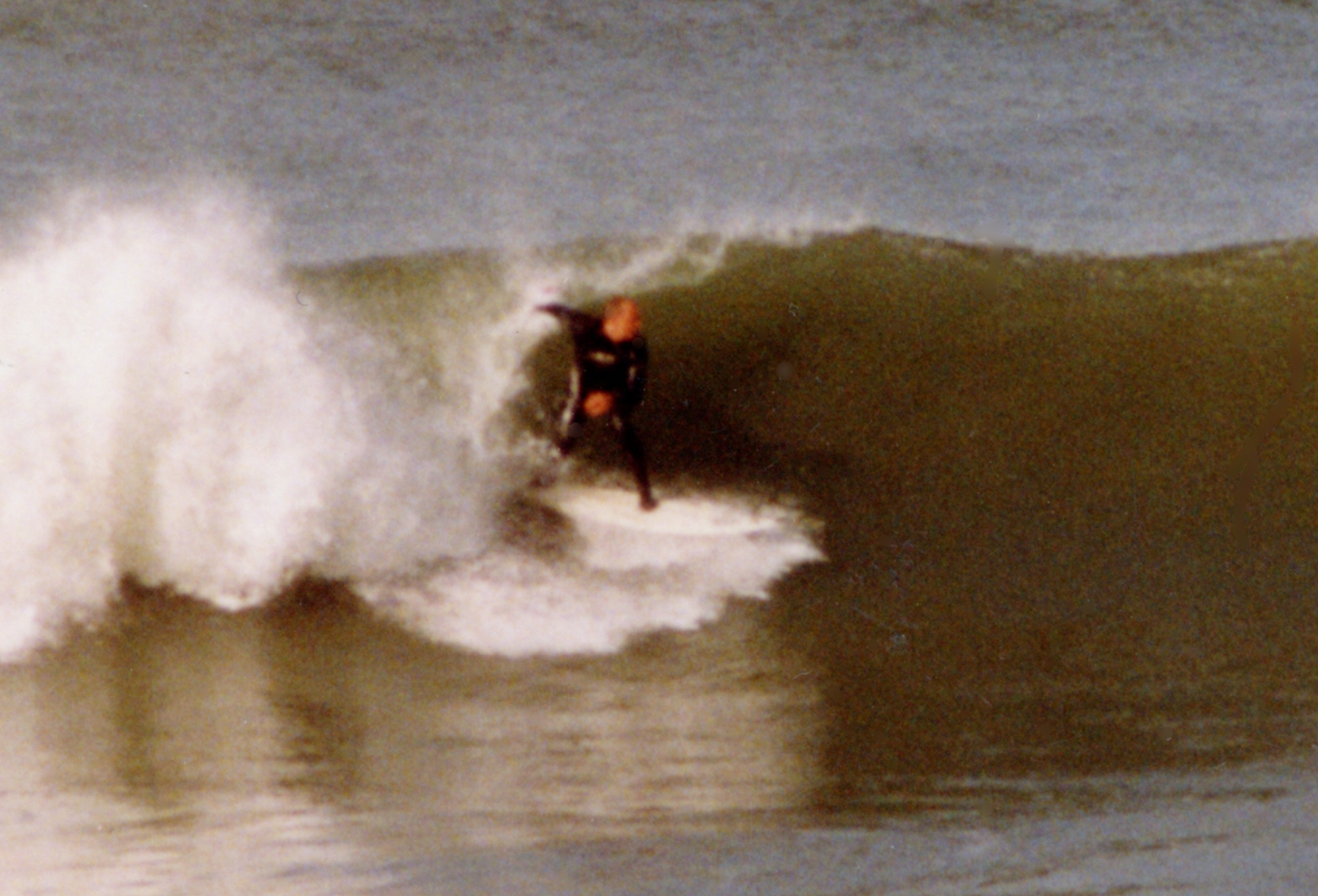 Going for broke, Ocean Beach, San Francisco, California.