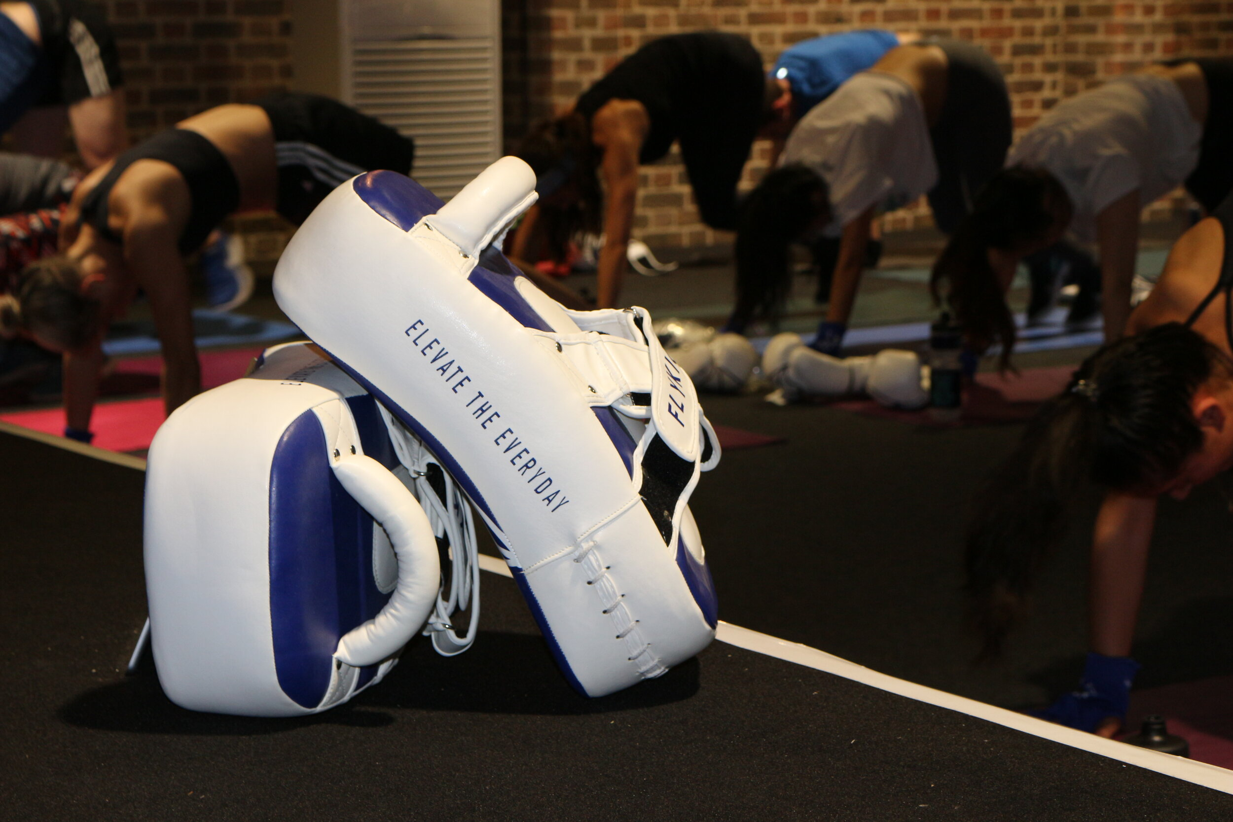 POP-UP CLASSES + WELLNESS EVENTS - We can run our Signature classes at your office or private venue for special events, wellbeing weeks and simply the days when your team is too busy to make it to the studio. We can also run workshops on topics such as nutrition, mental wellbeing, weight-training and more;Book a FLYKICK instructor to teach a HIIT and Padwork Pop-Up class for up to 30 guests - we'll kit you all out with our rental gloves and wraps