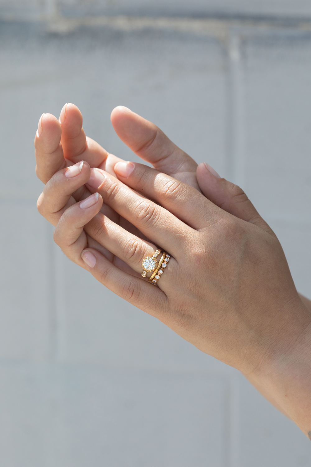 Ethically Sourced Diamond Engagement Rings + Wedding Bands