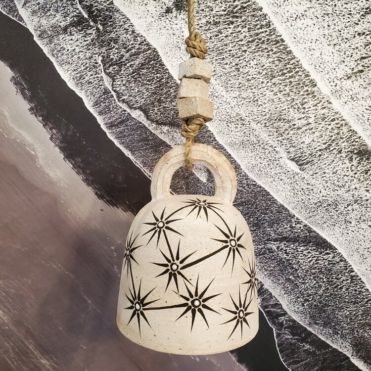M.Quan Small Round Thrown Bell, Constellations $255