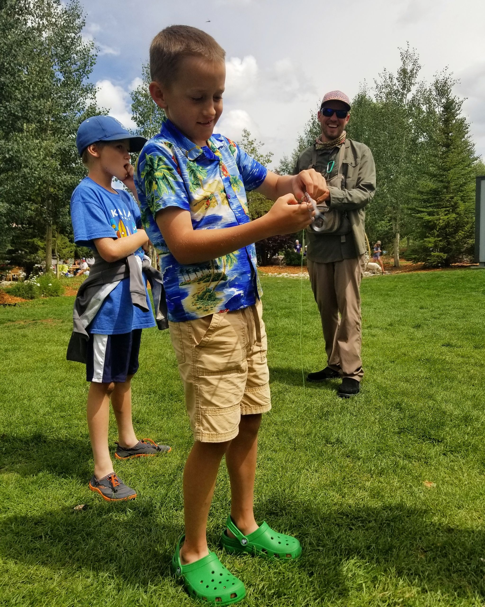 Giving Back to the Community - Fly Fishing is all about being educated and taking the time to learn something new and exciting. The most important thing to remember is to enjoy your time on the water and decompress from a long day.By working with local community organizations SFF is able to provide services that educate the youth of today how to fly fish while having a good time on and off the water.Arctic Char are a prized catch on Lake Dillon, only found in here in the lower 48 states. Come take a day off and take a shot at one today. Could be the next record catch of a lifetime!
