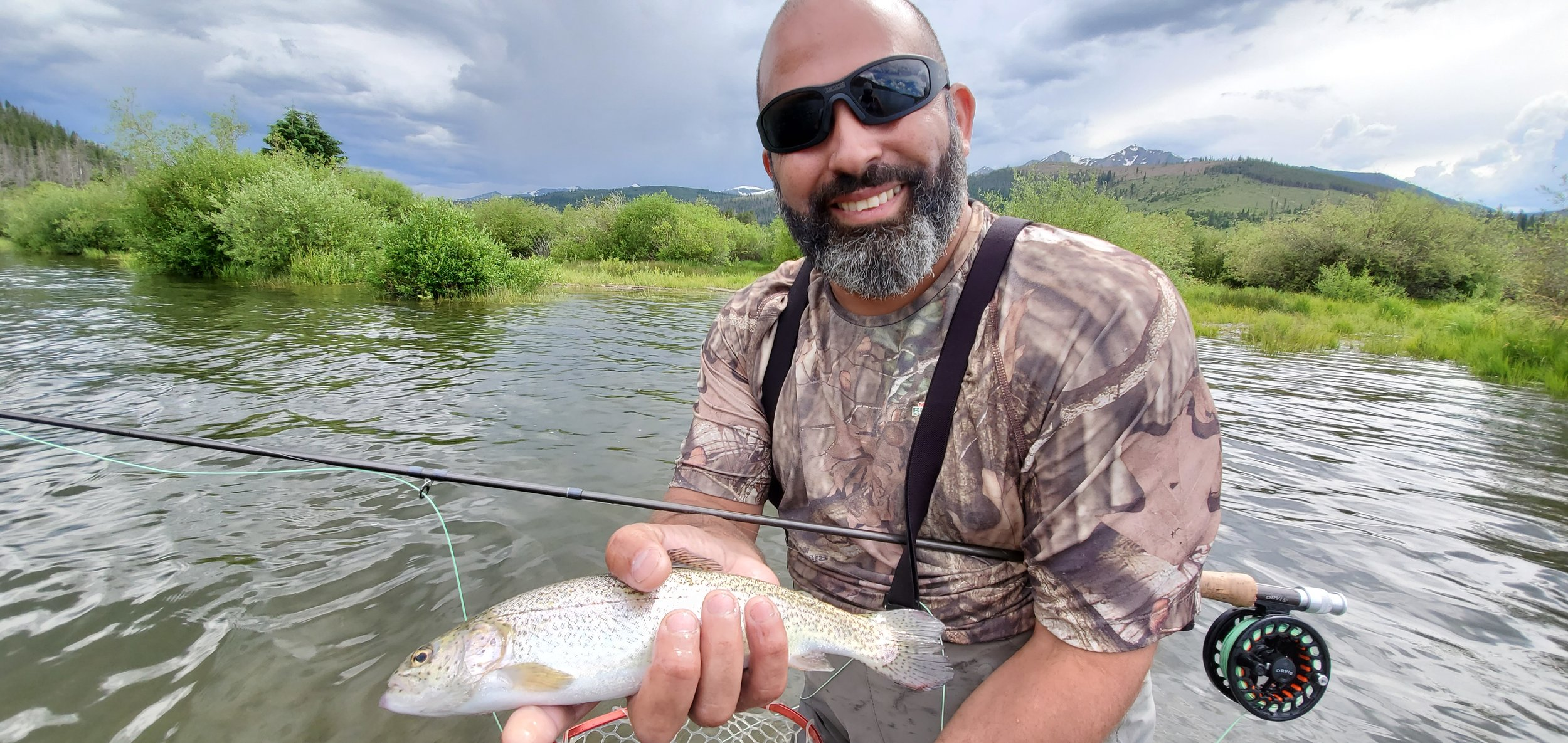 Fly fishing is a great activity for all skill levels and ages.