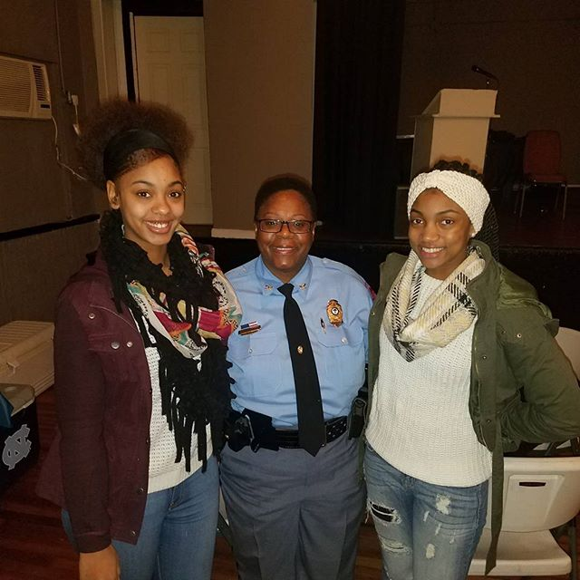 Love and Light! Respeck to our first African American female police chief of Raleigh NC! #wecelebrateblackhistory365