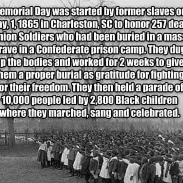Know your history. #peacetomyancestors