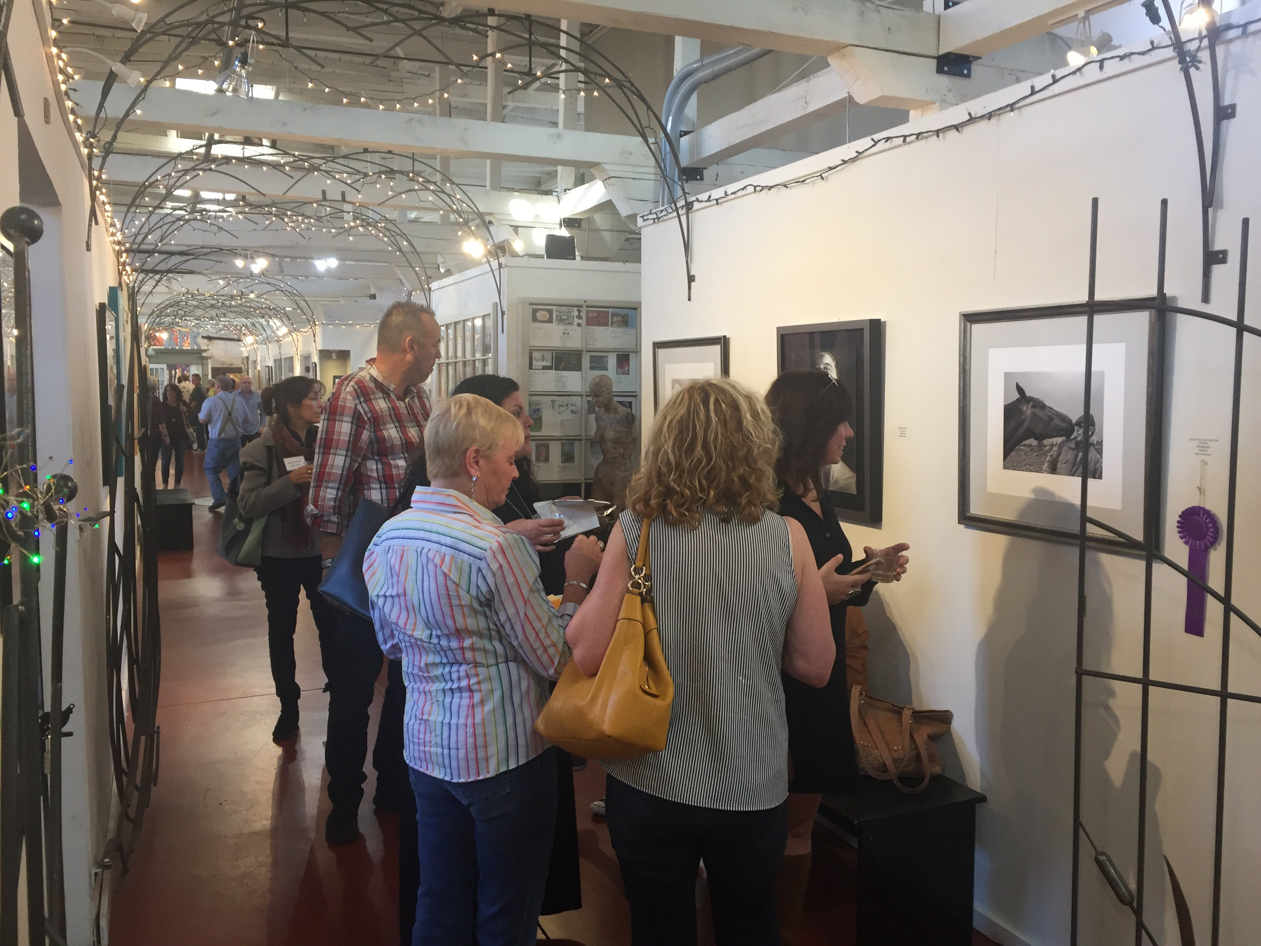 Open Studio During the Fall Juried Art Exhibit