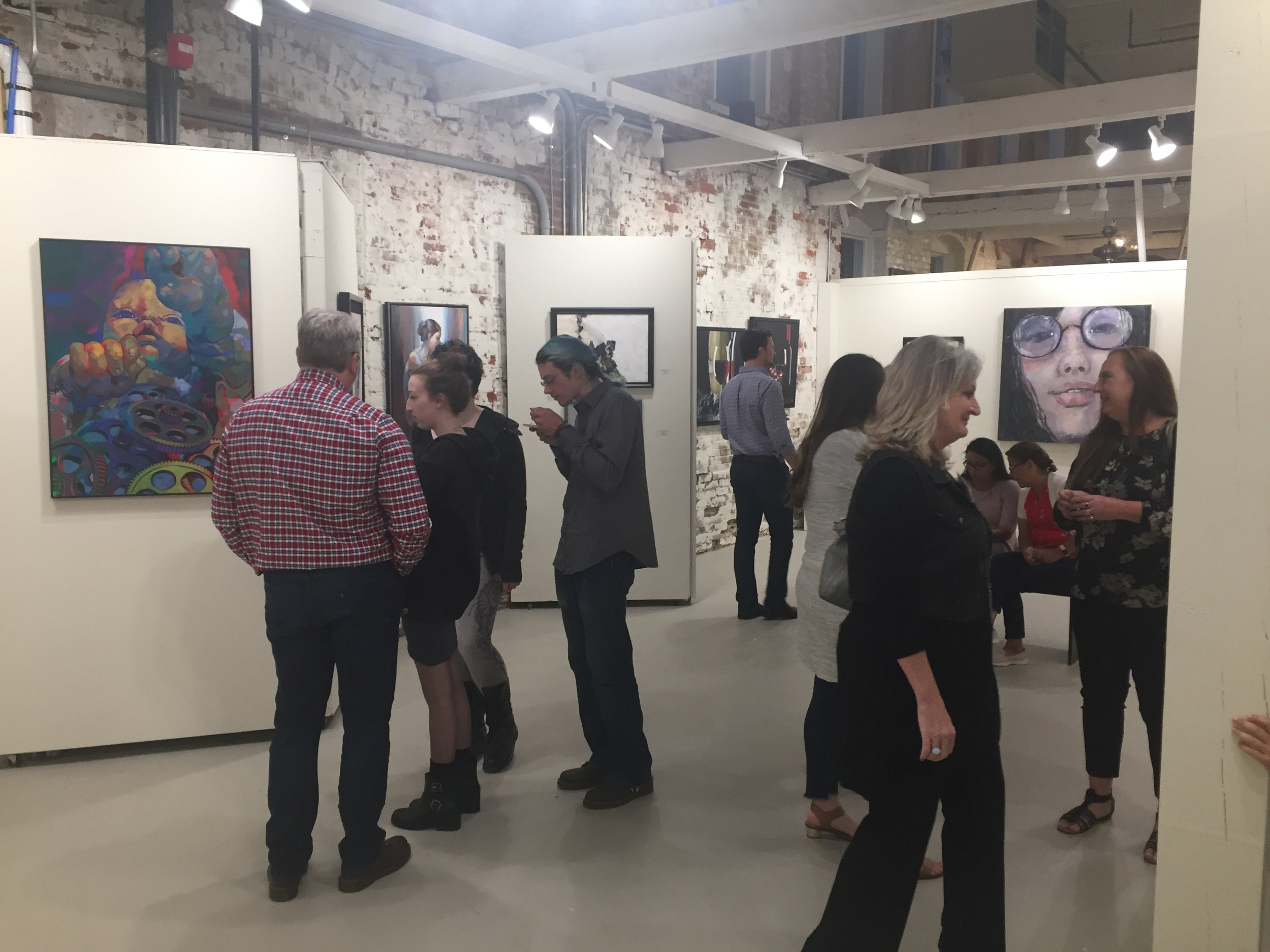 Tannery Row Artist Colony Gallery- Open Studio Fall Juried Exhibition