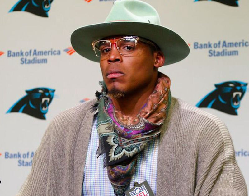Cam Newton as a meat eater.