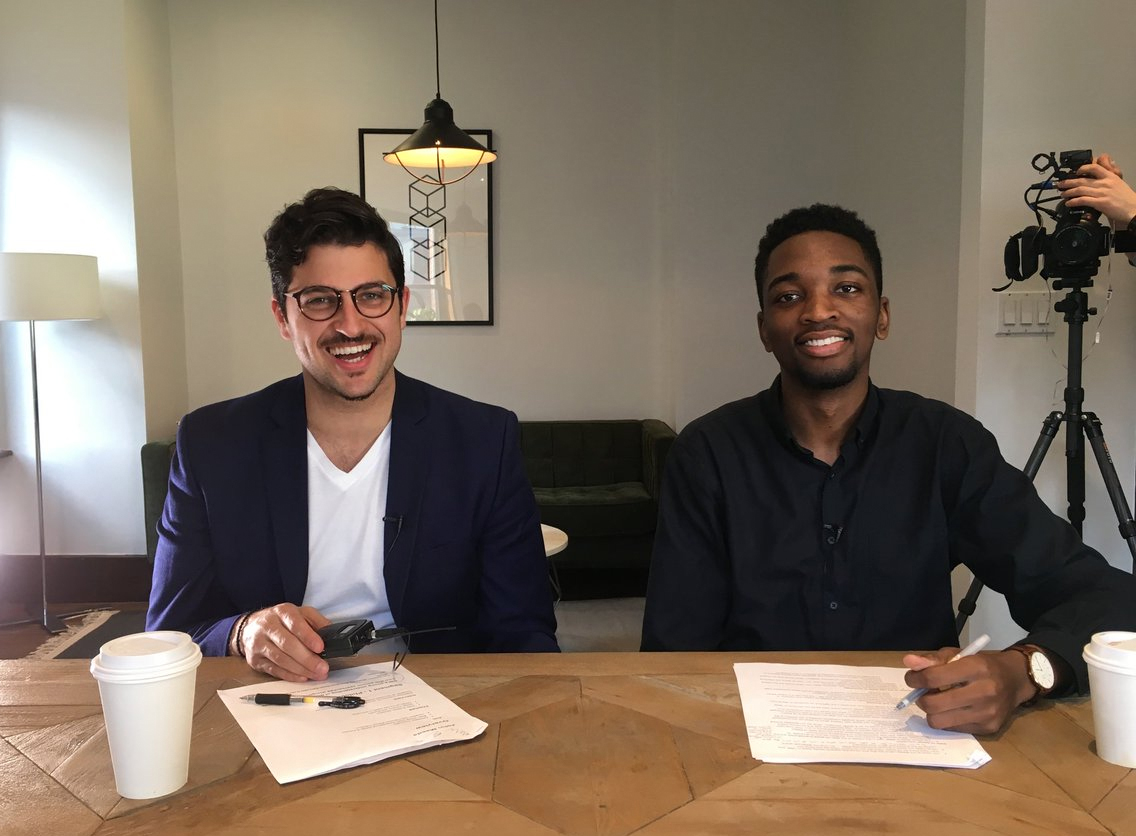High Resolution 's hosts Bobby Ghoshal and Jared Erondu