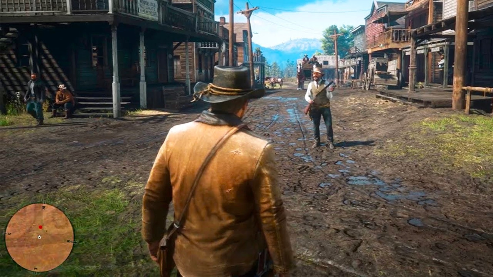 Red Dead Redemption 2: the best interface is no interface at all