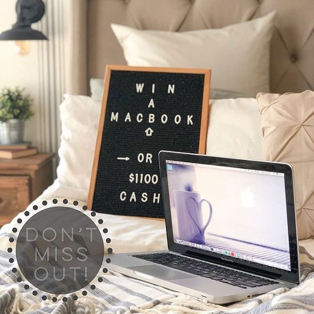 ✨MacBook Gift-away✨ - Have you entered?! Who wouldn't want to win a MacBook computer or $1100 USD electronic CASH?! . . Like this post and head over to @ladytribe_giveaway for entry details! . . Open worldwide! Contest ends at 8pm PST on 6/25⏱. This contest is in no way sponsored or endorsed by Instagram.