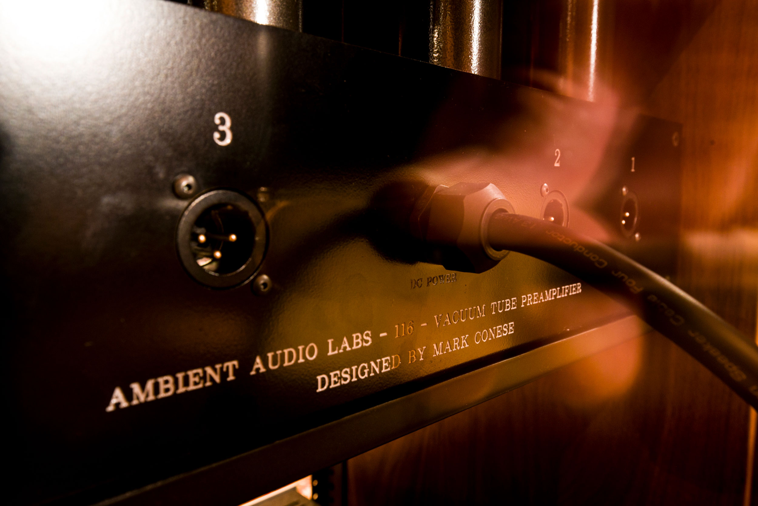 Custom pro audio hardware - Mark Conese designs and builds custom recording spaces, new vacuum tube microphones, transistorized as well as vacuum tube microphone preamplifiers, DI pre-amplifiers, discreet mixing consoles, power amplifiers and speaker monitor systems.For 2018, plans have been made to build a custom 32 input class-A discrete transistorized mixing console designed to bridge the gap between Hi-Fidelity playback equipment and professional recording equipment. A completely unique and custom recording chain from microphone to monitor creates a sound quality that is only available at Ambient Records.