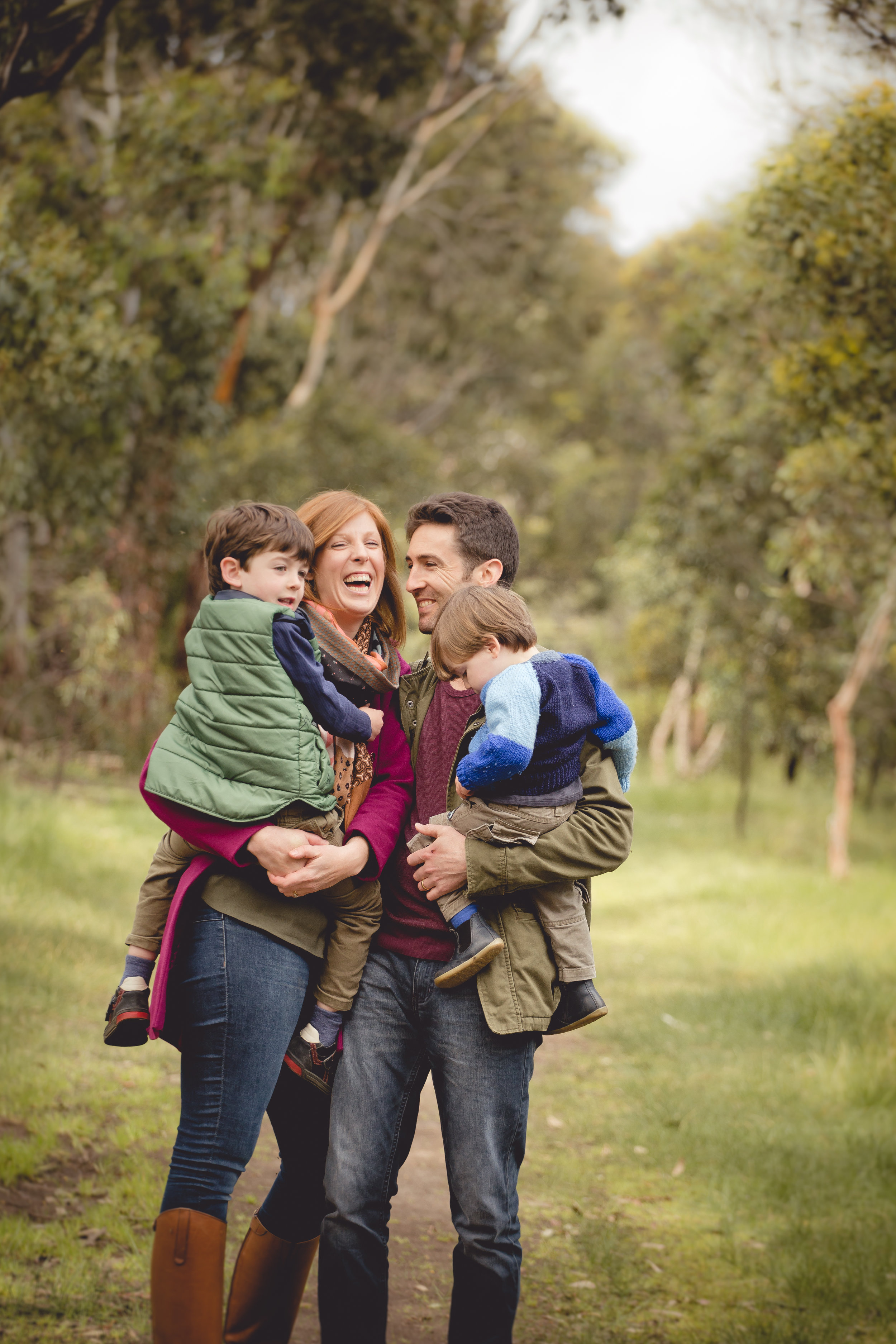 Family Sessions - Family sessions include your immediate family and images of your child/ren individually, with mum and dad separately, and any other combinations you wish for.I have some beautiful locations around the Bellarine Peninsula, Geelong and surrounds that I can recommend, whether you prefer a beach or bush look.All bookings receive a helpful PDF What to Wear Guide and plenty of session tips to help you prepare.