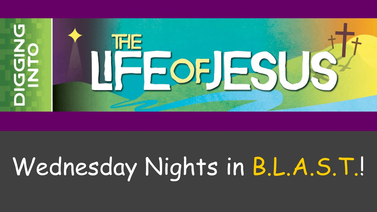Current Mid-week Series - Wednesdays at 7 PM