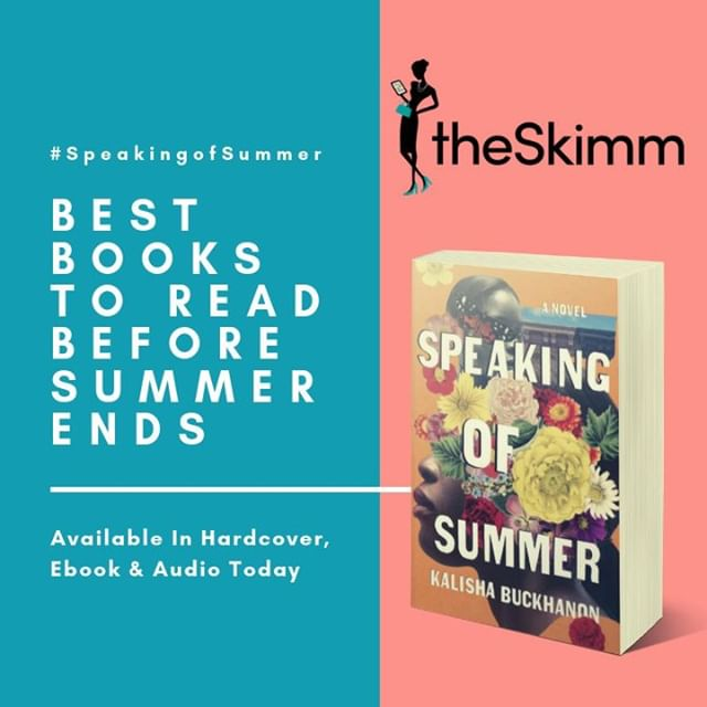 #theSkimm has its best books to spend the last days of summer on- #SpeakingOfSummer is one! Find signed copies at The Mysterious Bookshop, 57th Street Books, Word Up: Community Bookshop - Libreria Comunitaria and Bunch of Grapes Bookstore.  #2019Books #SummerBook #BeachRead #Blockbuster #Bestseller #IndieBookstores #Mystery #Thriller