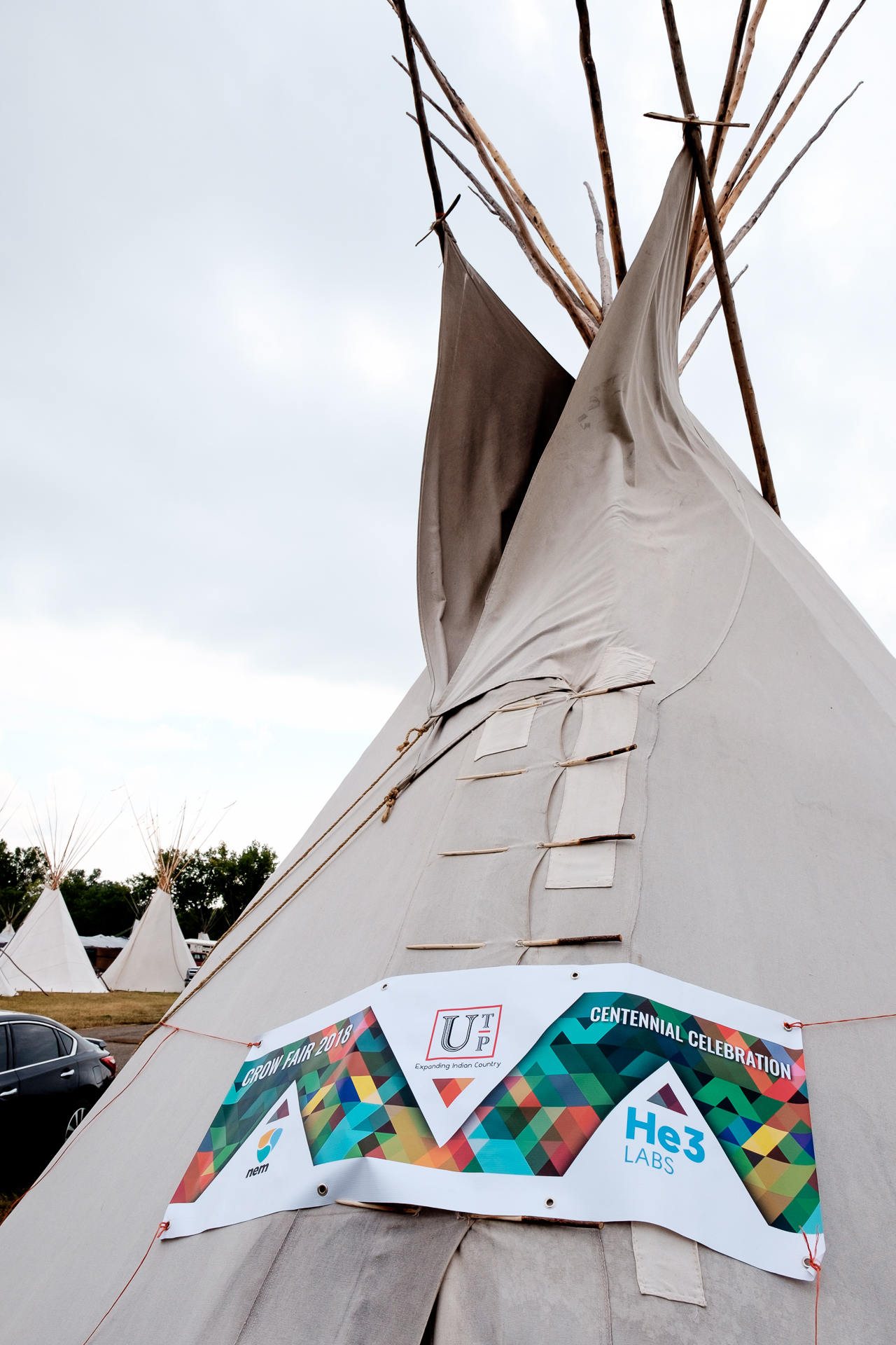 He3labs official demo teepee.