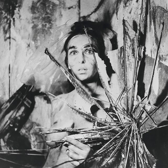 "CAROLEE SCHNEEMANN. R.I.P. 🖤 The taboo breaking artist fearlessly reimagined what was possible in a gloriously diverse range of mediums. On ""MEAT JOY"" her 1964 erotic ritual performance: ""The culture was starved in terms of sensuousness because sensuality was always confused with pornography. The old patriarchal morality of proper behavior and improper behavior had no threshold for the pleasures of physical contact that were not explicitly about sex but related to something more ancient—the worship of nature, worship of the body, a pleasure in sensuousness."" Typically, she was shunned by the art establishment until her work began to be reappraised in recent years. . . #caroleeschneemann #femaleartist #bodyart #meatjoy #womenshistorymonth #internationalwomensday #feministart"