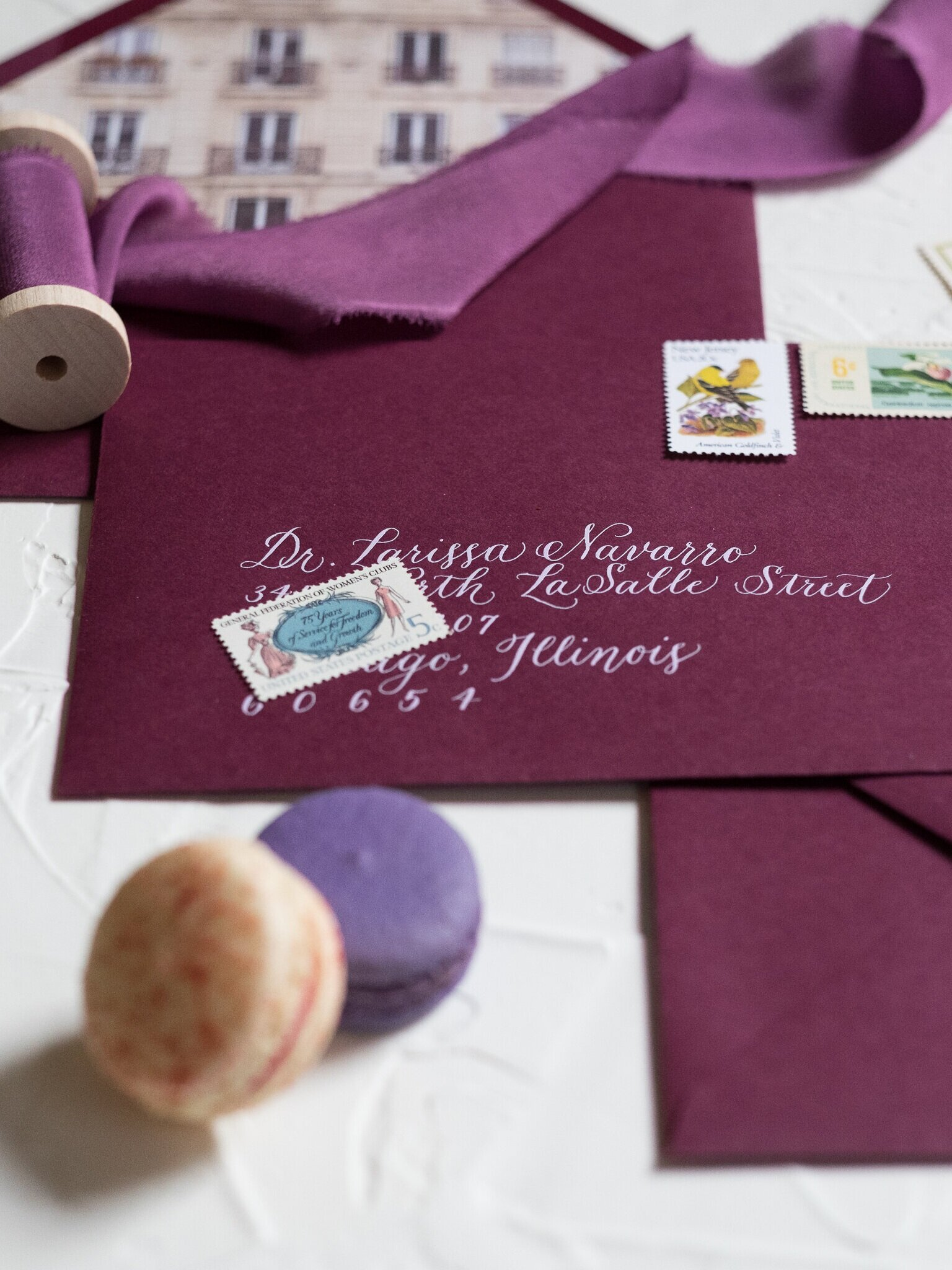 envelopes - for an elegant and inviting first impression