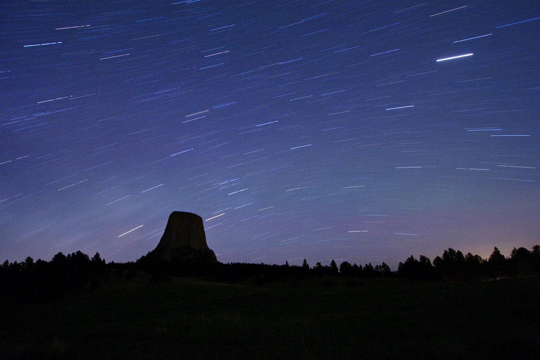 Star Trails above Mato Tipila
