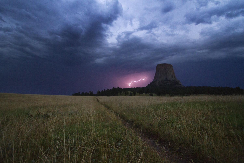 Lightning Storm at Mato Tipila II