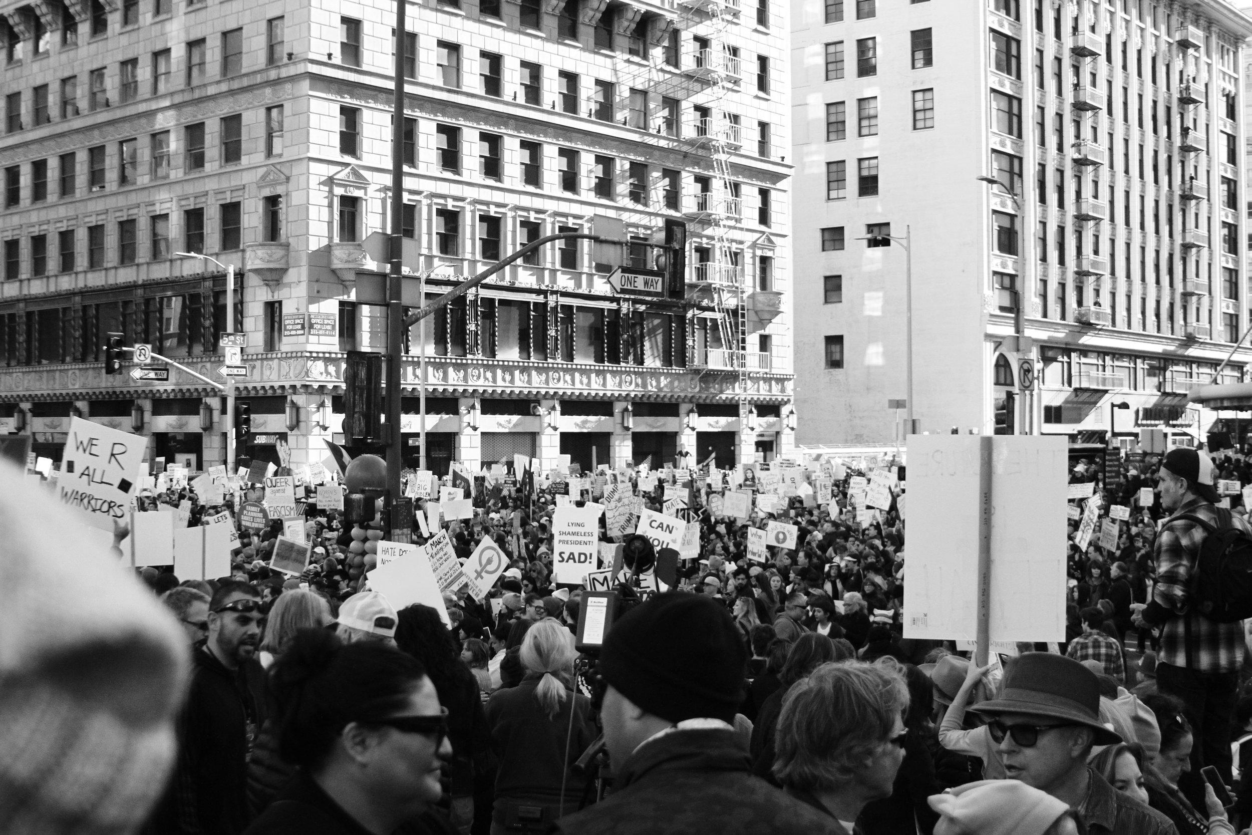 public discourse protest Photo by Alyssa Kibiloski on Unsplash