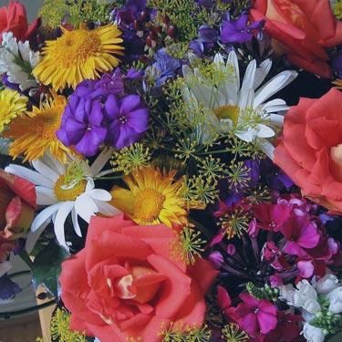 - bouquets