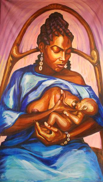 Yemanya by  Marcus Akinlana
