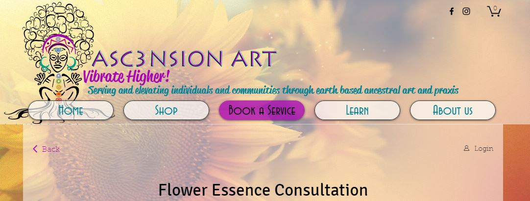 Get your Flower Essence with  Asc3nsion Art