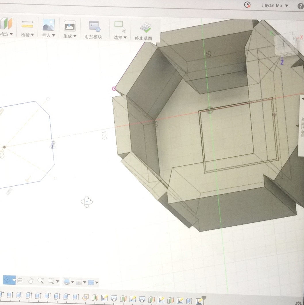 Prototyping - Modeled in CAD and rendered within selected material.