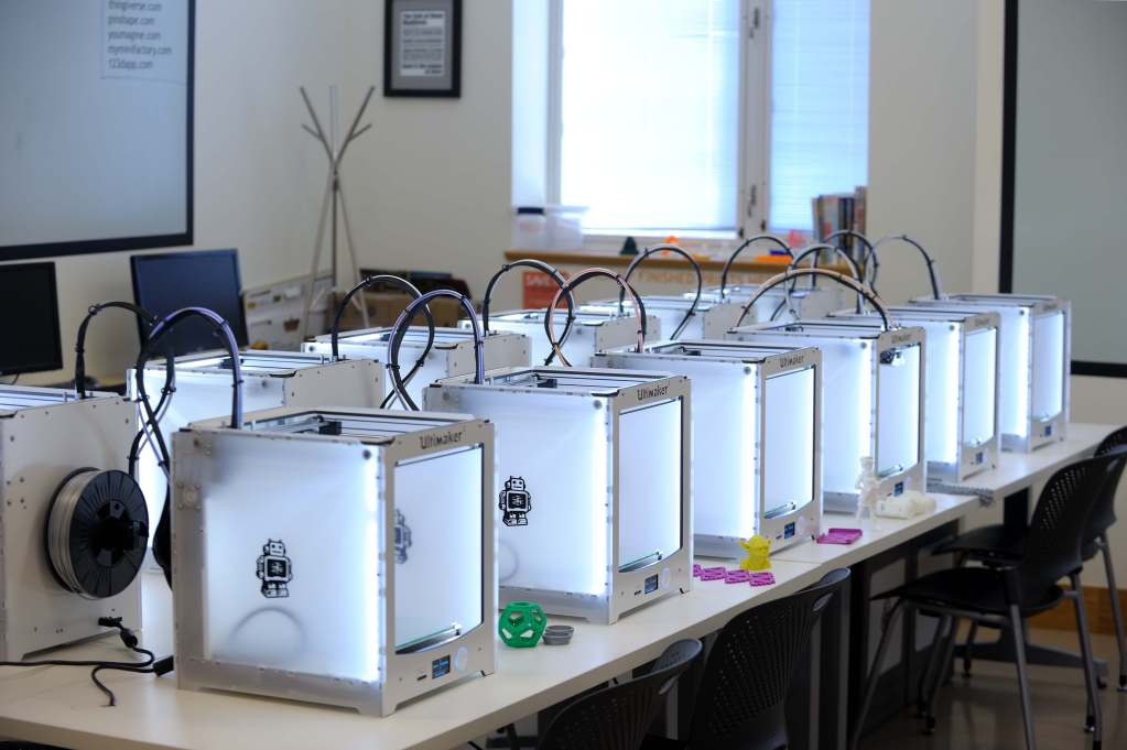 All new Ultimaker 2 printers in the MakerLab