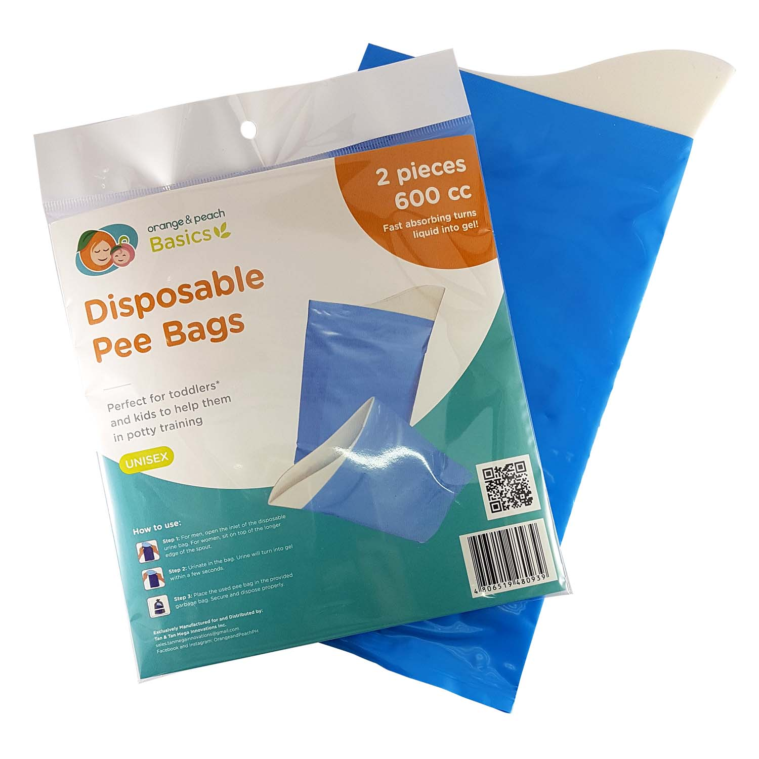 Disposable Pee Bags