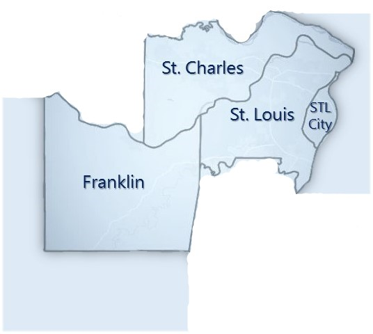 SERVICING THE ABOVE ST. LOUIS METROPOLITAN COUNTIES & SURROUNDING AREAS