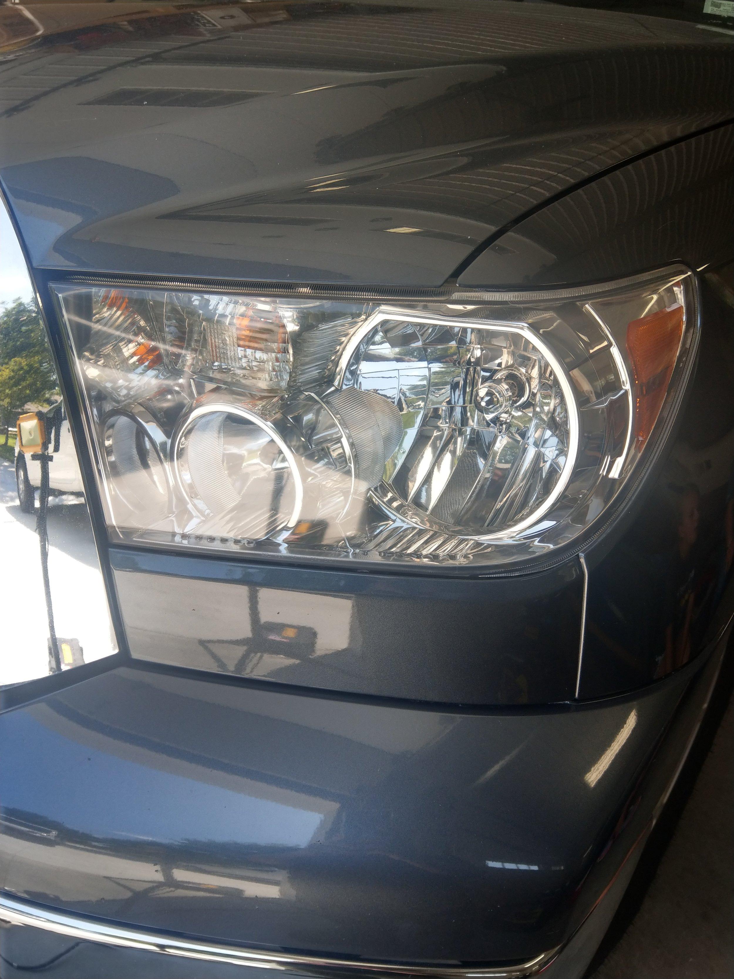Headlight Restoration — Toyota Tundra