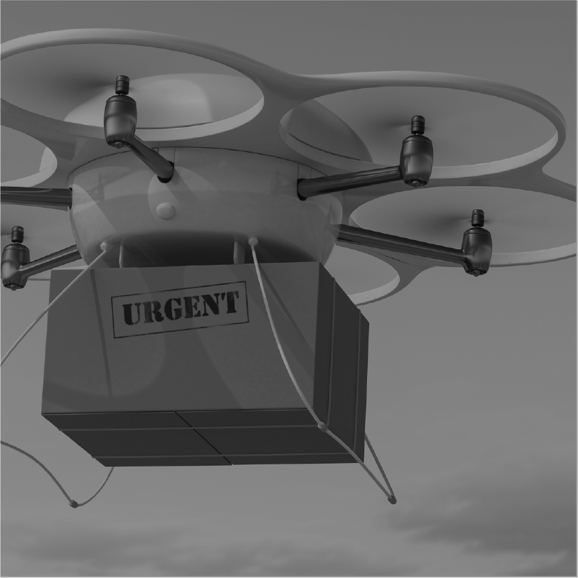 LARGE CAPACITY DRONES