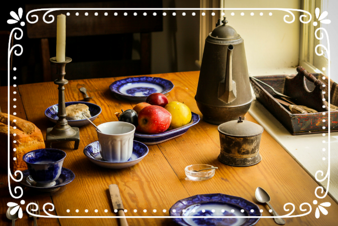 The simplicity of the family table is something we all desire.